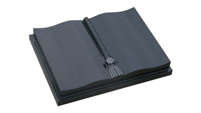 Bible with polished tassel